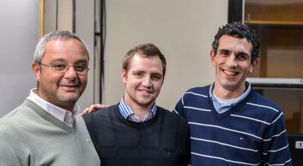 Andrés Demarchi, Alfredo Cattani y Julio César Badaró