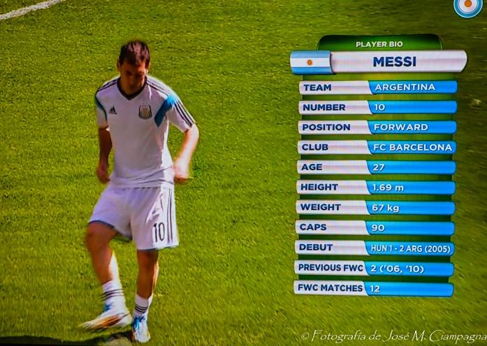 """Messi , """"la pulga"""" Mundial 2014, Brasil"""