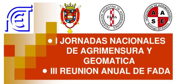 Primeras Jornadas de Agrimensura y Geomática