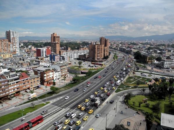 La ciudad de Bogotá