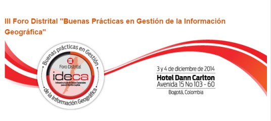III Foro Distrital IDECA, Bogotá, Colombia
