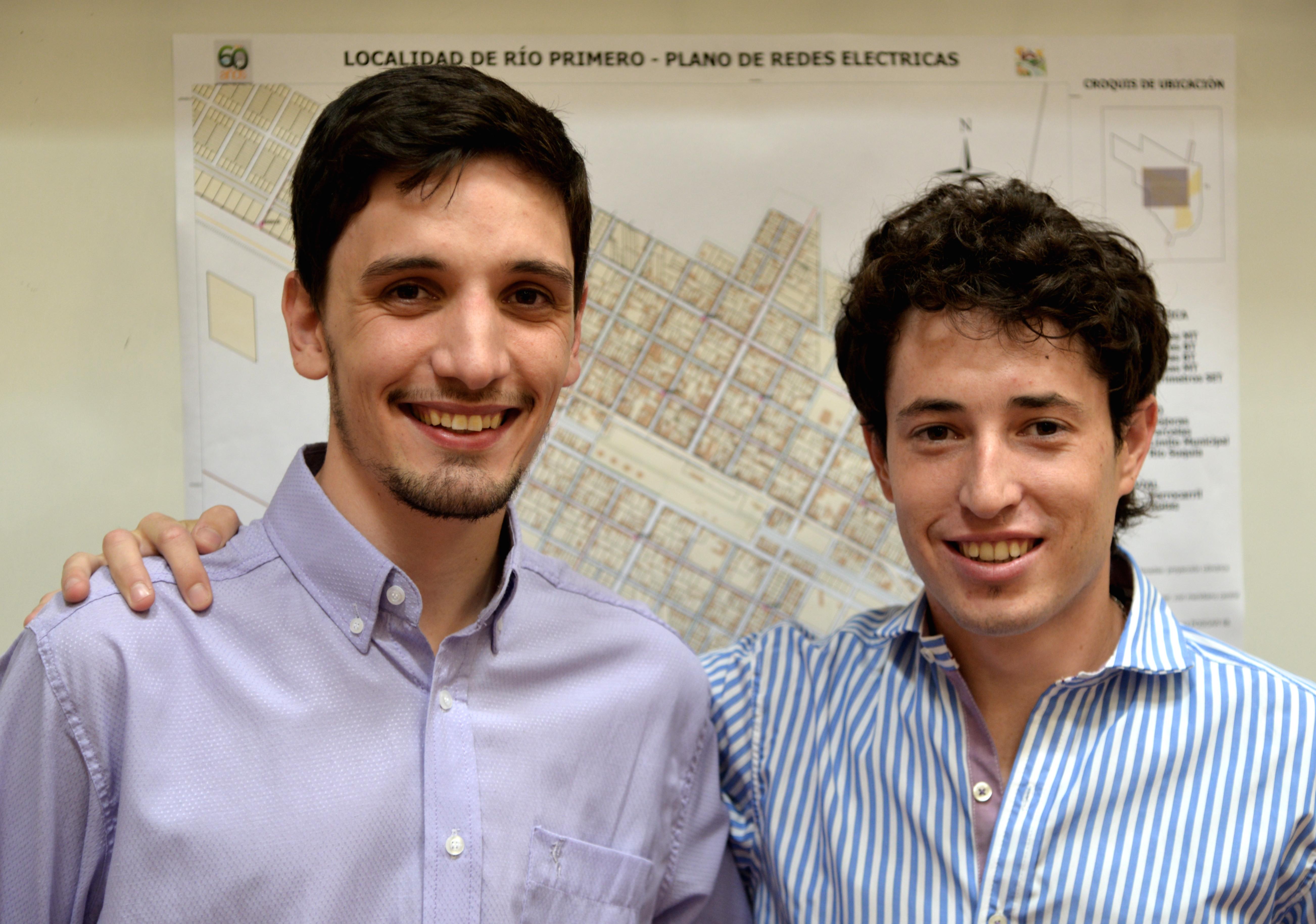 Juan Sasia y Lucas Porporato