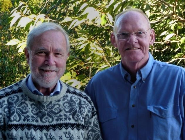 Peter Dale y Stig Enemark