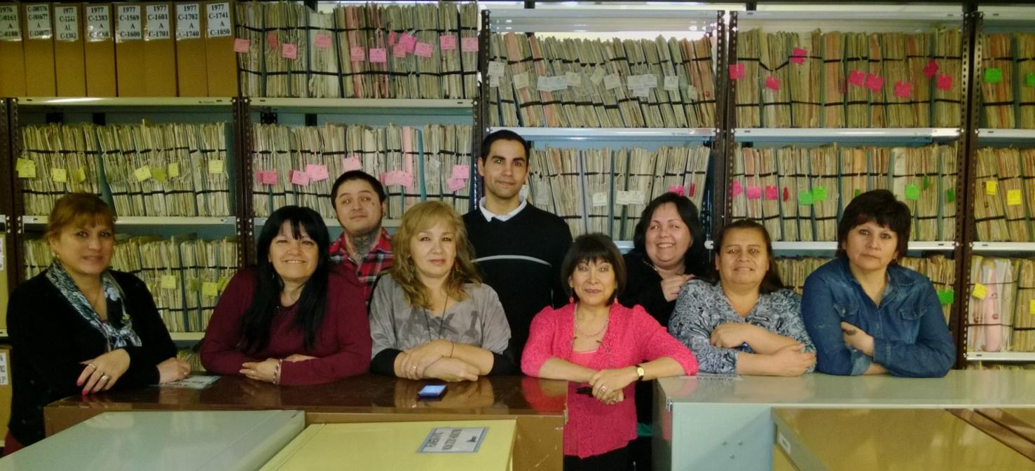 Grupo de trabajo del archivo catastral de la Provincia de Neuquén