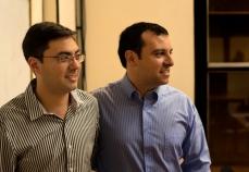 Gustavo Fiorucci y Guillermo Escobar