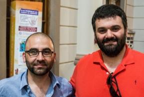 Mauricio Rollán y Gustavo Centineo