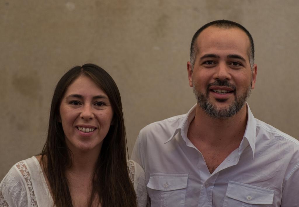 Lorena Bucolini y Hernán Hoyos