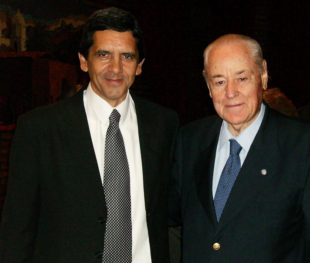 Carlos Gustavo Diez y Juan Carlos Castagnino
