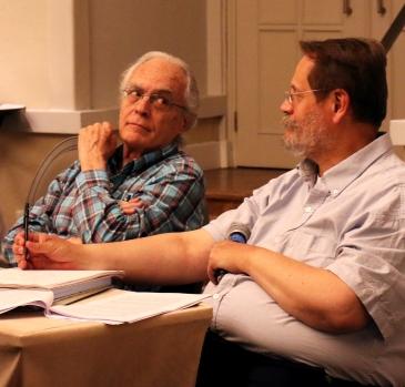 Paulo Sandroni y Carlos Morales