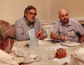 Miguel Aguila, José Ciampagna y Julián Morales