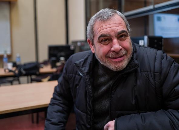 Ingeniero agrimensor Omar Belisle, Presidente del Colegio de agrimensores de la Provincia de Córdoba.