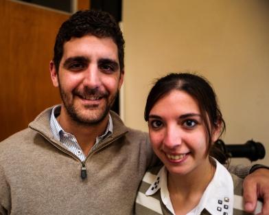 Federico Falco y Fernanda Biglia