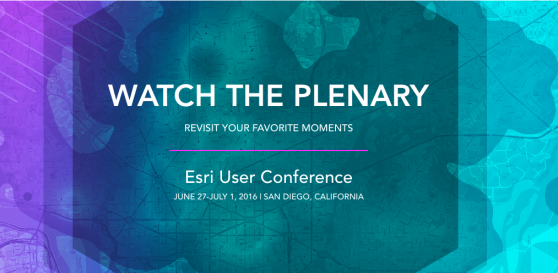 ESRI USER CONFERENCE 2016 - California - USA