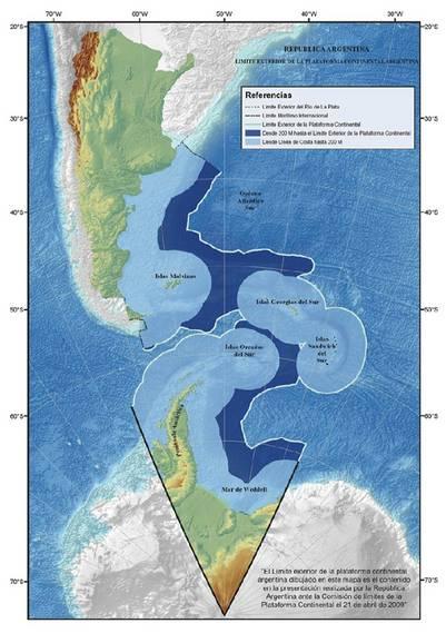 Plataforma continental argentina