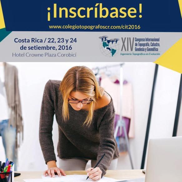 Congreso Internacional de Topografía, Catastro, Geodesia y Geomática. Costa Rica.