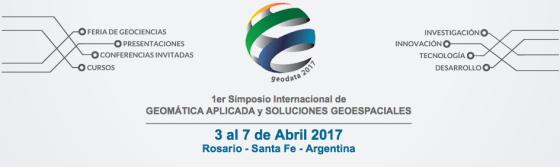 GEODATA 2017 - Rosario - Argentina - Abril 2017