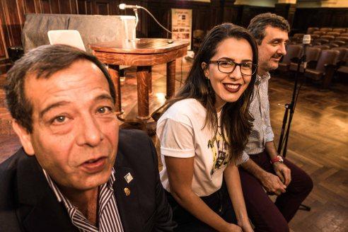 Tito Bosch, Stephany Gesser y Diego Erba