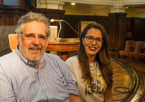 José Ciampagna y Stephany Gesser