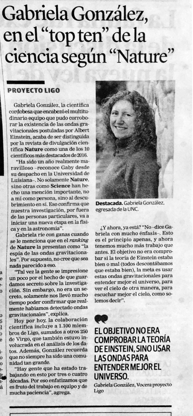 Gabriela Gonzalez,