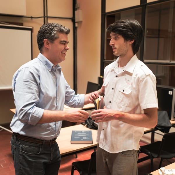 Ignacio Perensón y Mario Piumetto