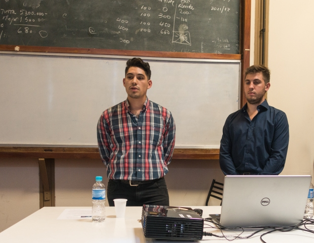 Eugenio y Ezequiel