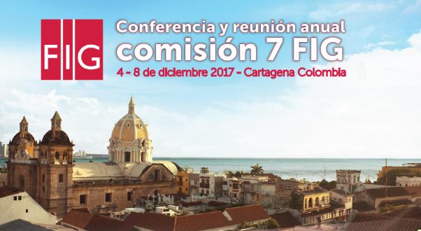 Conferencia FIG comisión 7 Cartagena