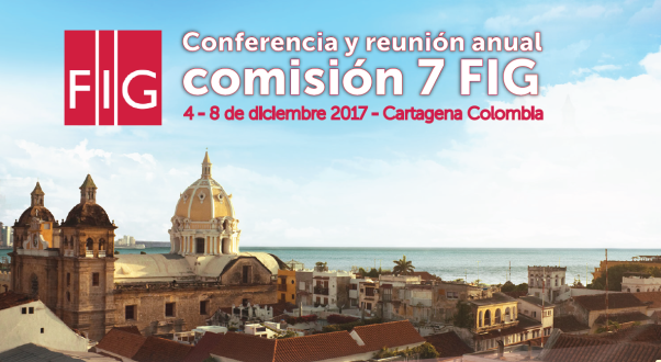 Conferencia FIG comisión 7 Cartagena
