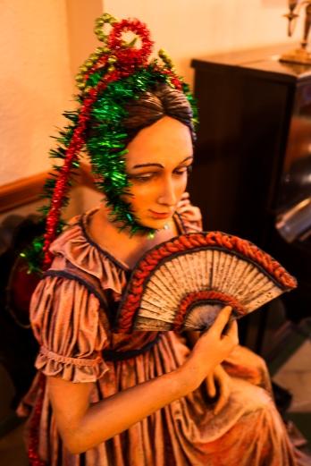 La dama del abanico