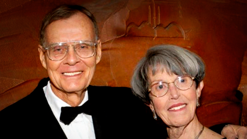 David Lincoln y esposa