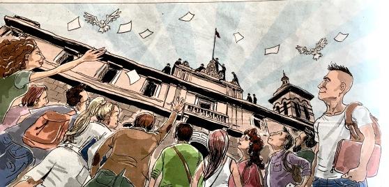La reforma Universitaria por Chumbi