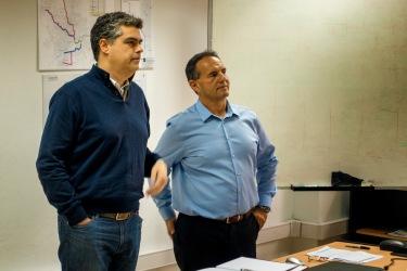 Mario Piumetto y Javier Isola