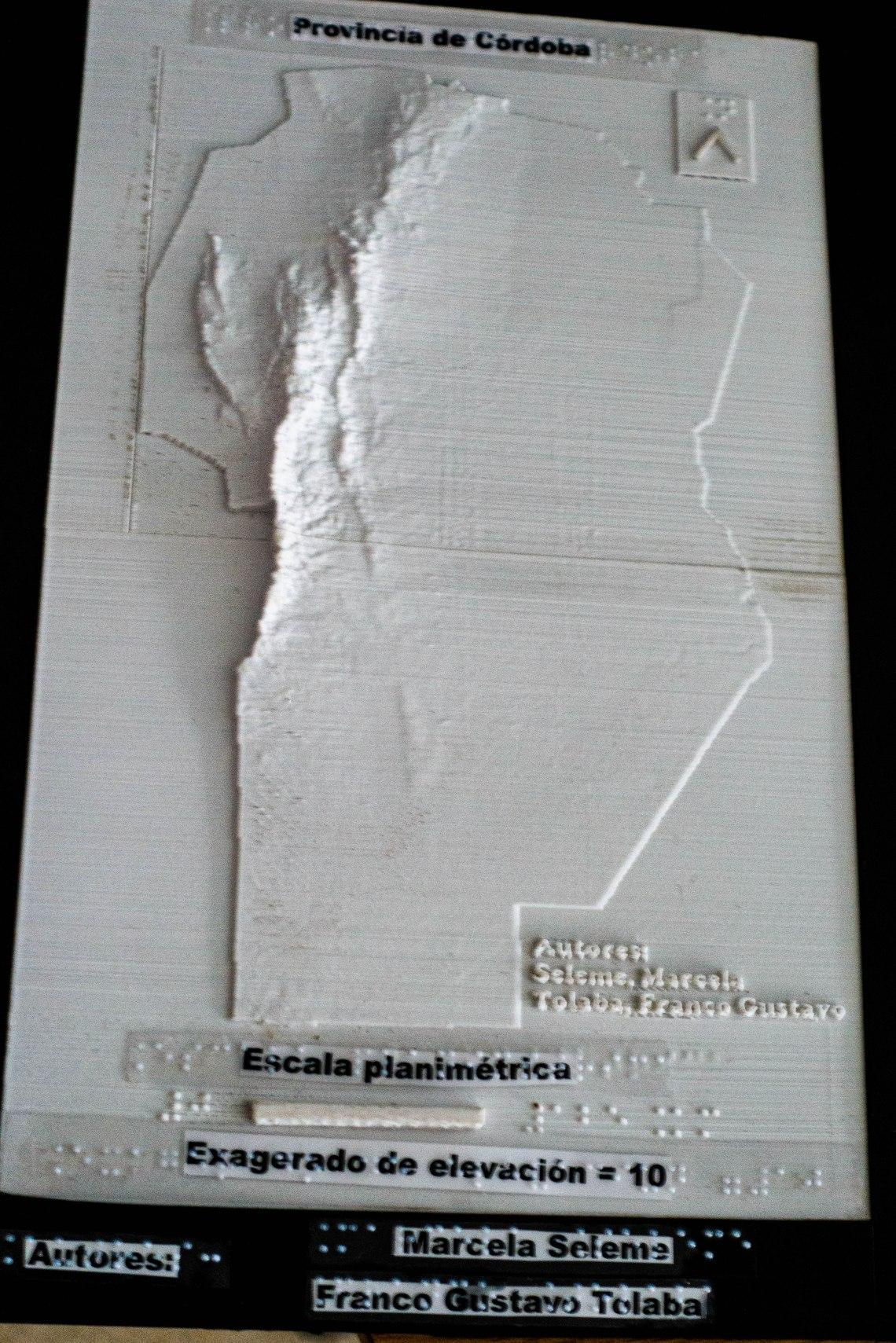 Mapa Cordoba 3D