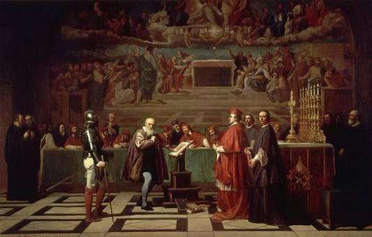 Figure 2 – Con su teoría, Galileo promovió la teoría heliocéntrica de Copérnico